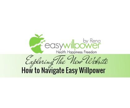 Exploring The New Easy Willpower Website