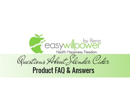 Frequently Asked Questions About Slender Cider