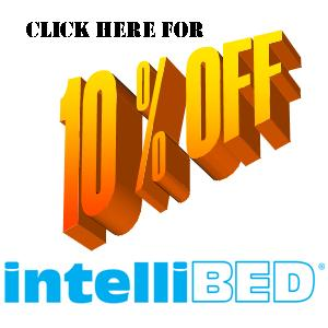 Get 10% off the Intellibed with coupon code: EasySleep