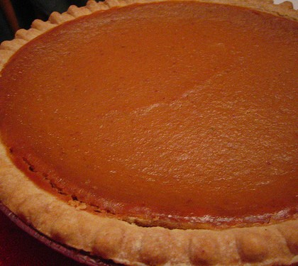 Healthy Pumpkin Spice Pie Recipe