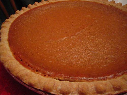 healthy pumpkin spice pie recipe