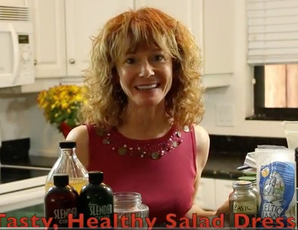 Quick, Easy, Healthy Salad Dressing