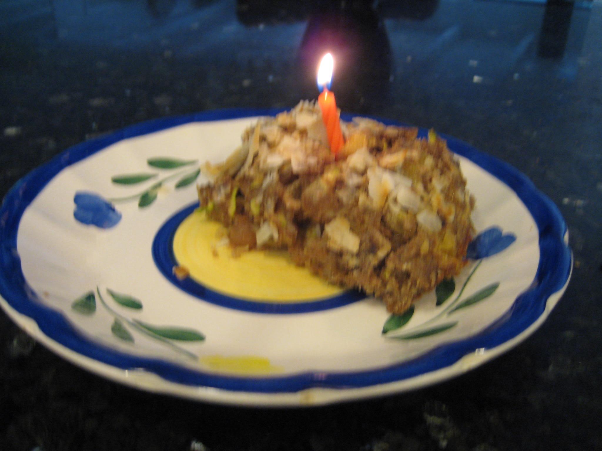 Healthy Zucchini Birthday Cake