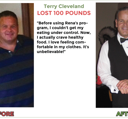 Terry loses 100 lbs with Rena's gastric bypass hypnosis