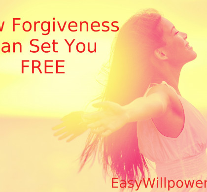 How Forgiveness can set you Free