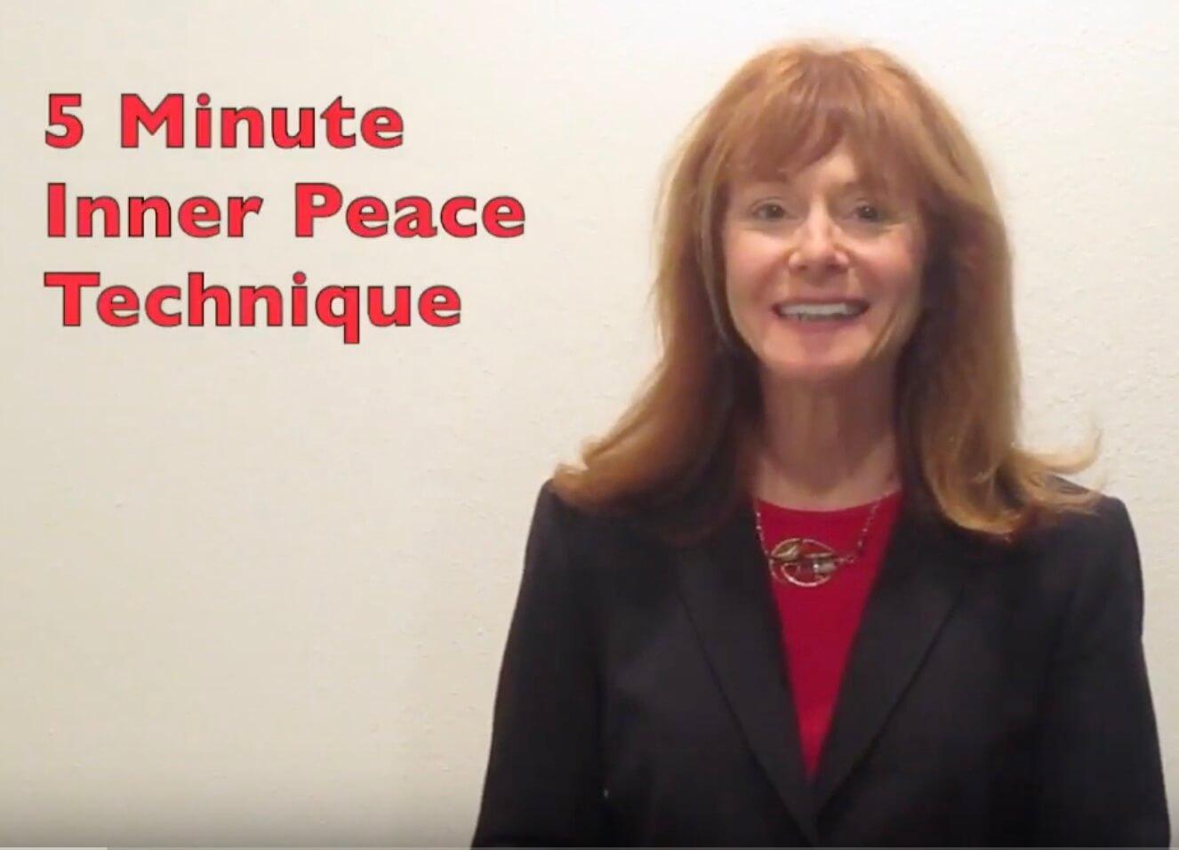 5 Minute Inner Peace Technique