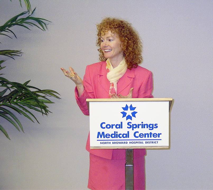Rena seminar Coral Springs Medical Center