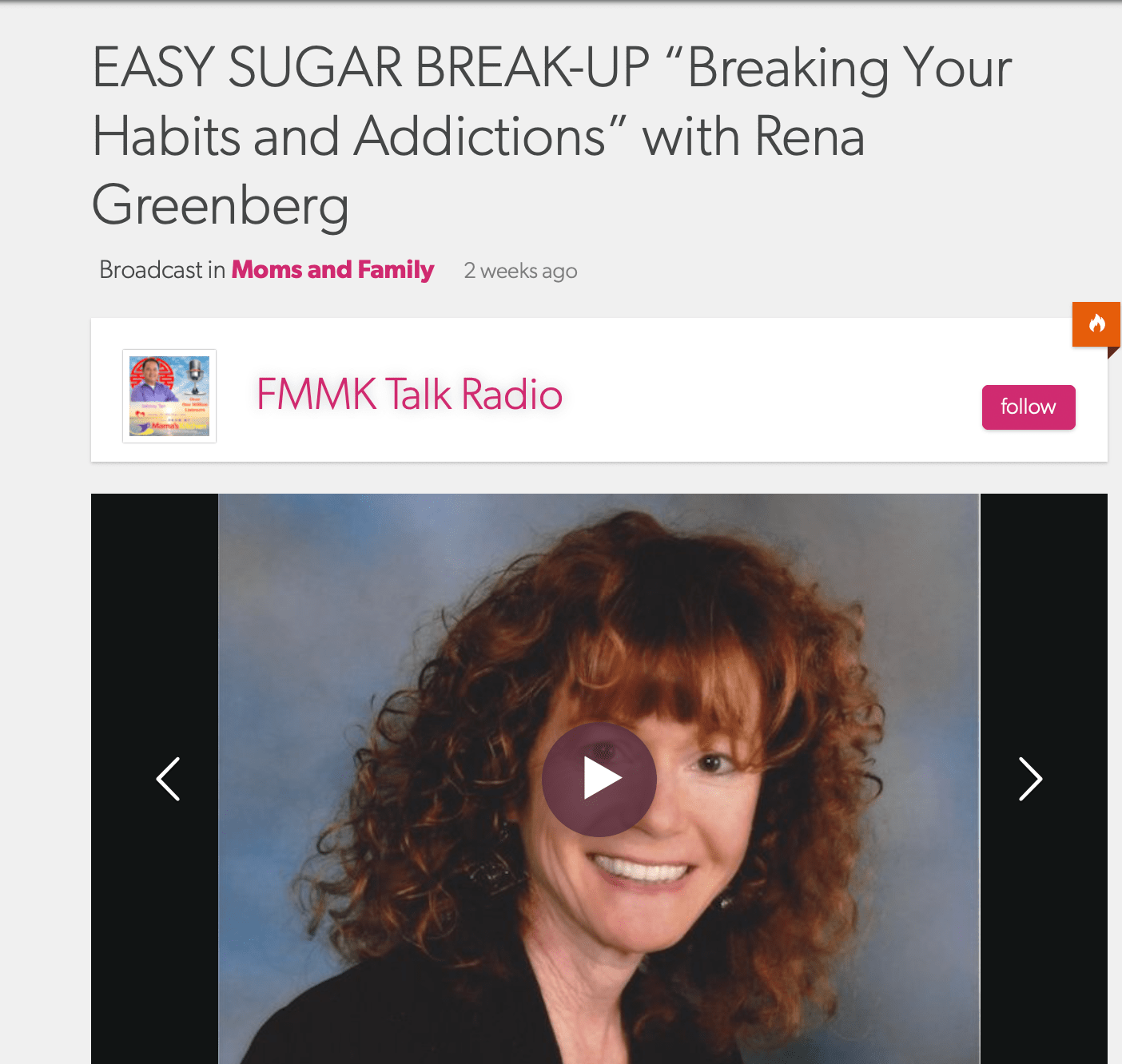 Easy Sugar Greakup on the Johnny Tan Show
