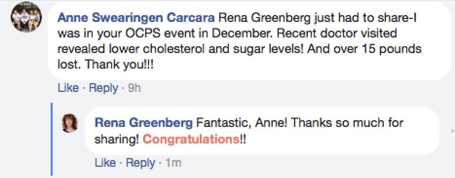 FB Anne Testimonial Hypnosis
