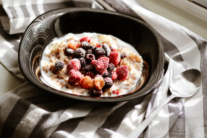 healthy homemade oatmeal breakfast
