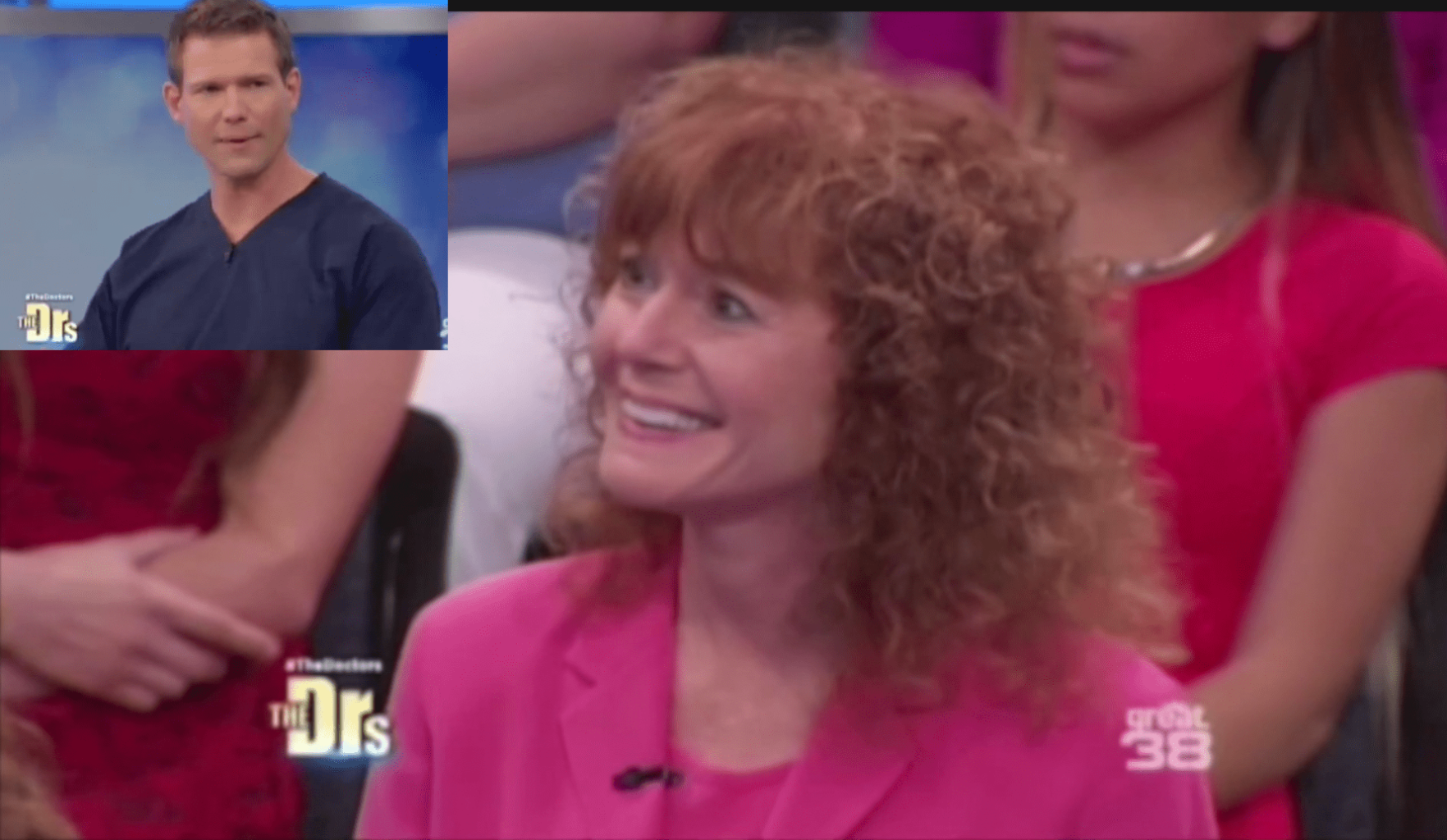 Rena on the Doctors Show with Dr. Travis