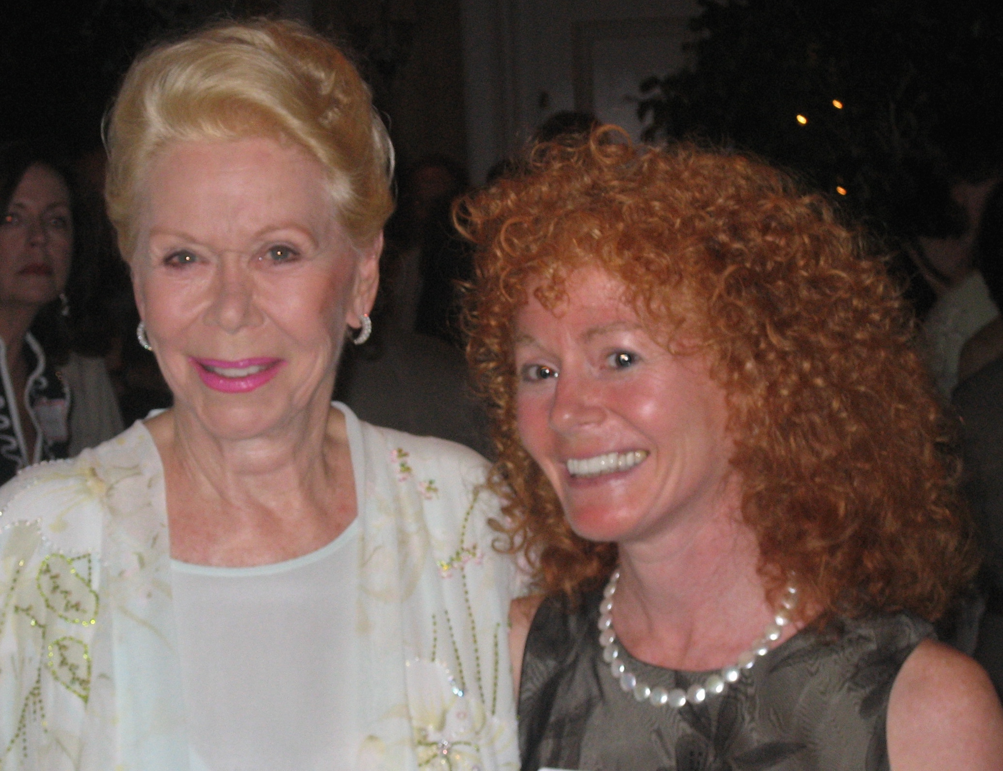 Rena with Louise Hay