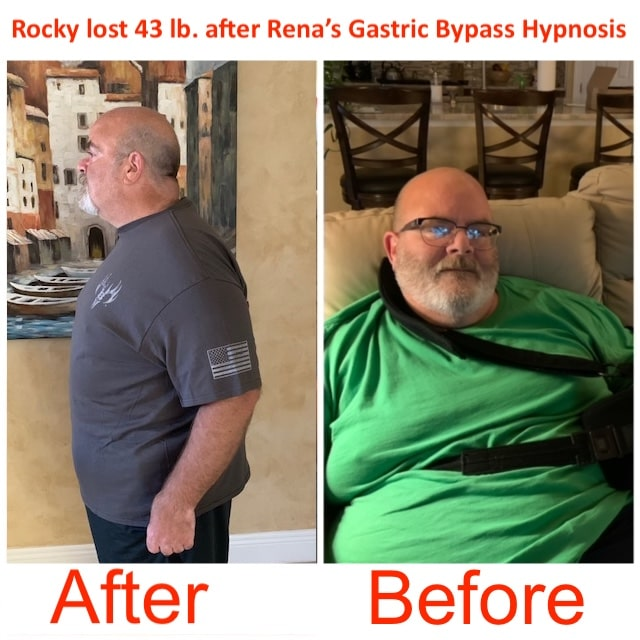 Rocky 43 lb weight loss