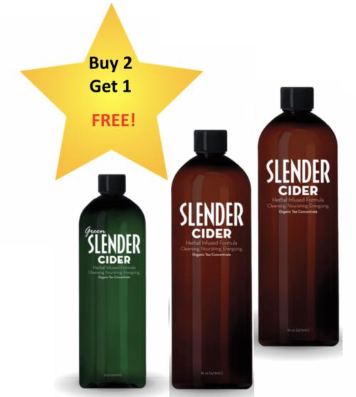 Buy two Get one slender cider