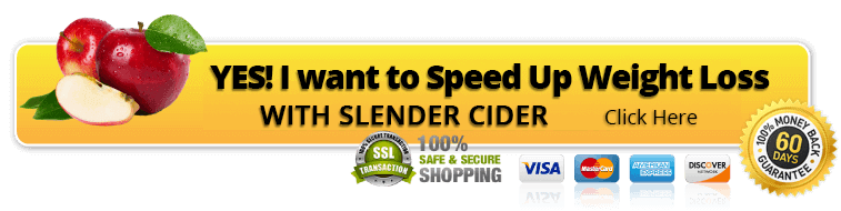 Speed up weight loss with slender cider