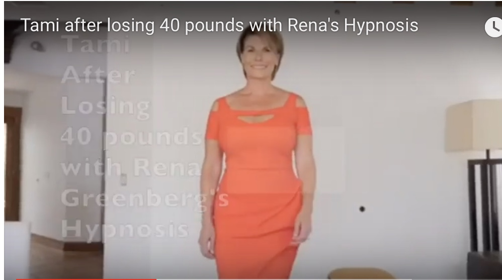 Tami after losing 40 pounds with gastric bypass hypnosis