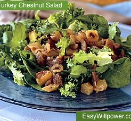 Turkey-Chestnut Salad