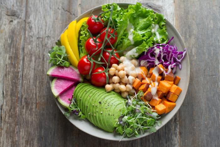 healthy salad bowl