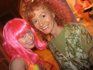 jess and mom halloween