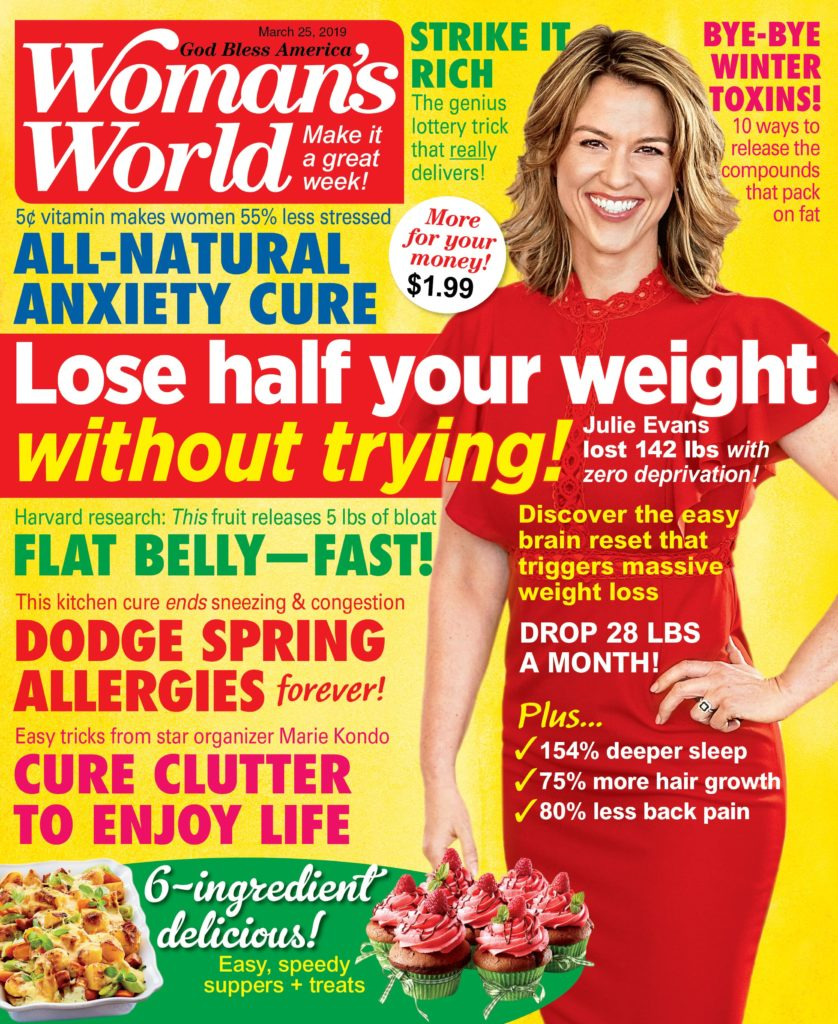 Woman's World Weight Loss Hypnosis Story
