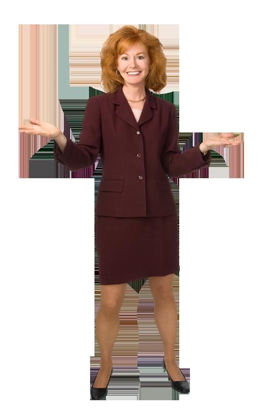 Rena Greenberg standing