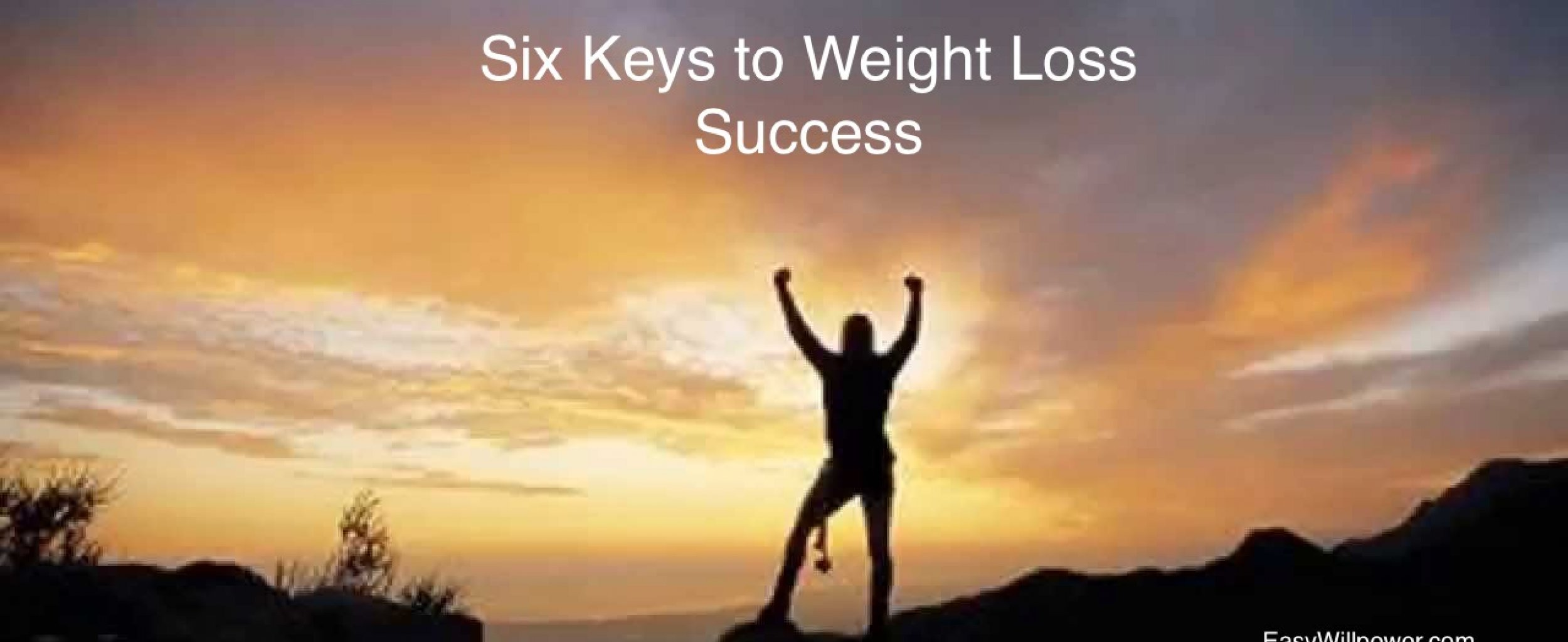 Six Keys to Weight Loss Success