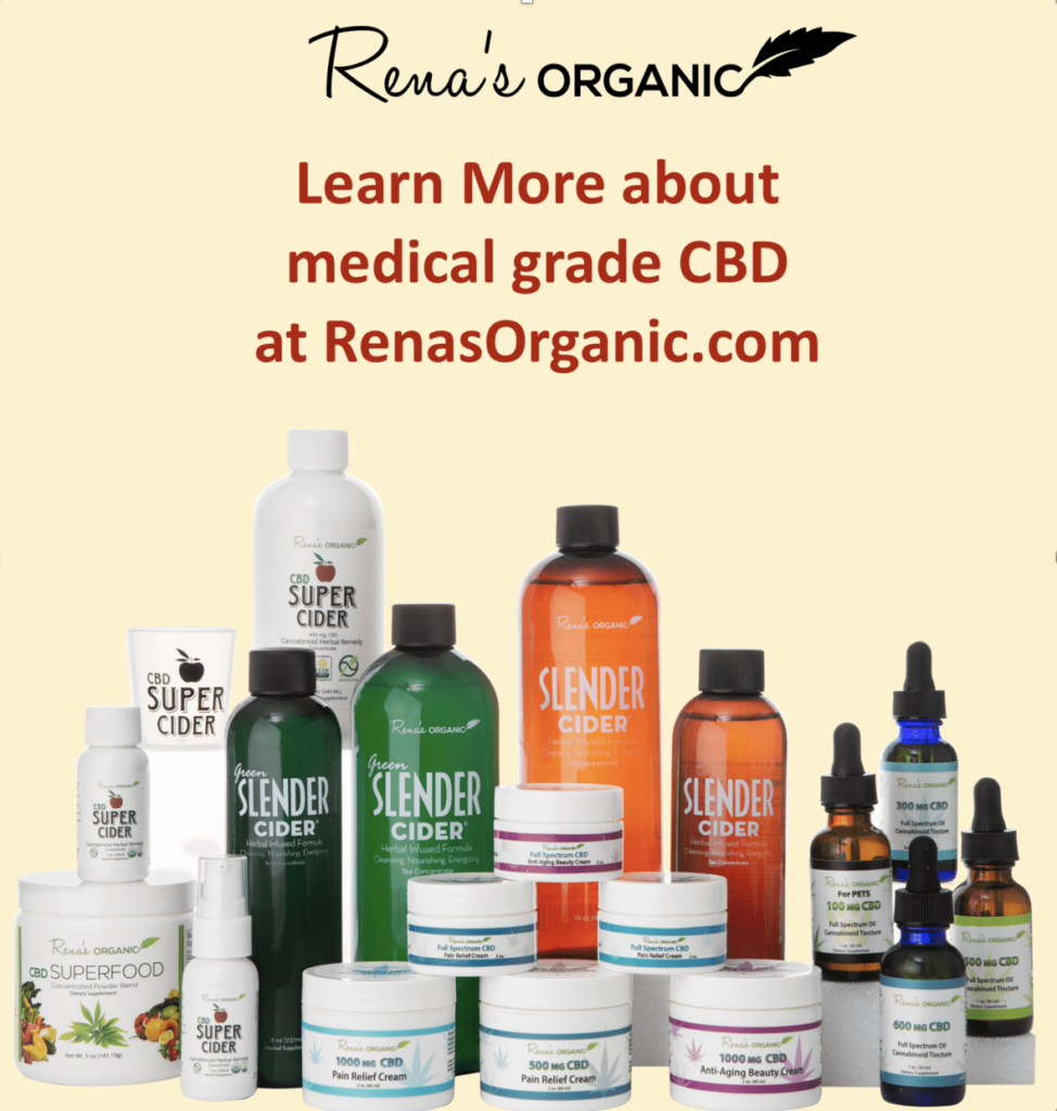 Rena's Organic products
