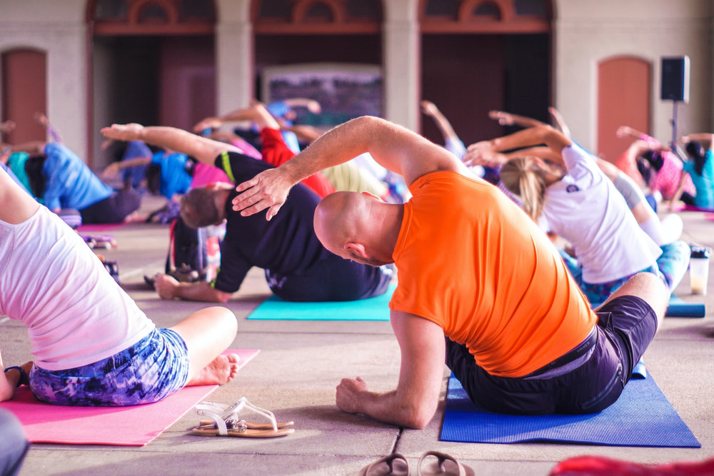 yoga is a low-intensity exercise that can help with quick recovery
